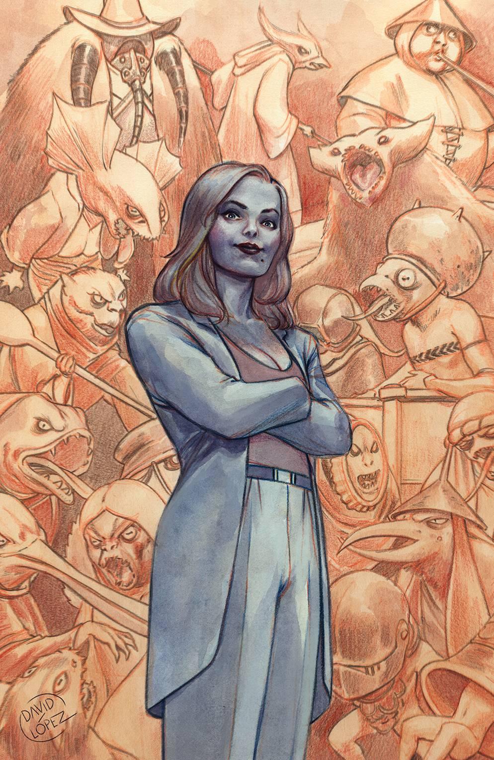 BUFFY THE VAMPIRE SLAYER #21—Cover A: David Lopez