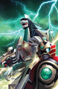 MIGHTY MORPHIN #3—Cover A: In-Hyuk Lee
