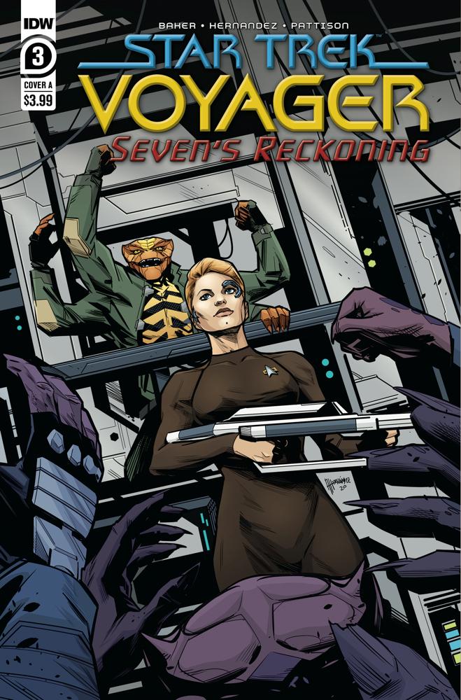 Star Trek: Voyager: Seven's Reckoning #3