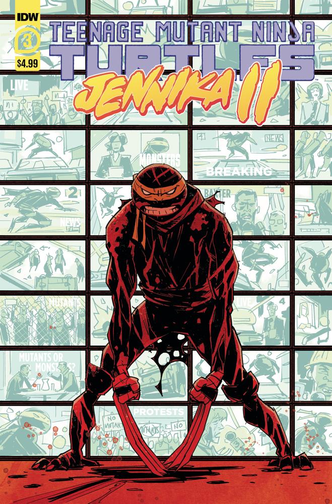 Teenage Mutant Ninja Turtles: Jennika II #3