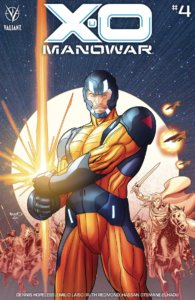 X-O Manowar #4 Cover B