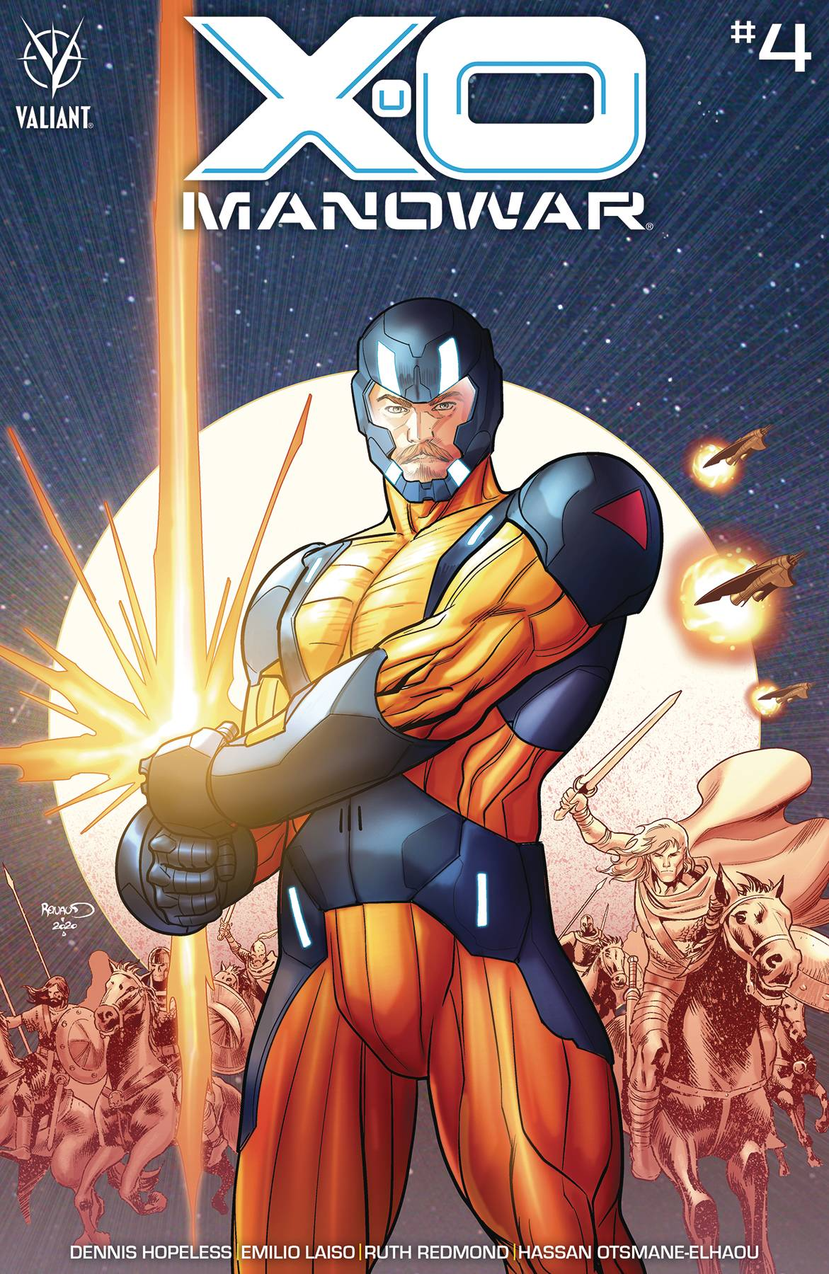 X-O Manowar #4 Cover B