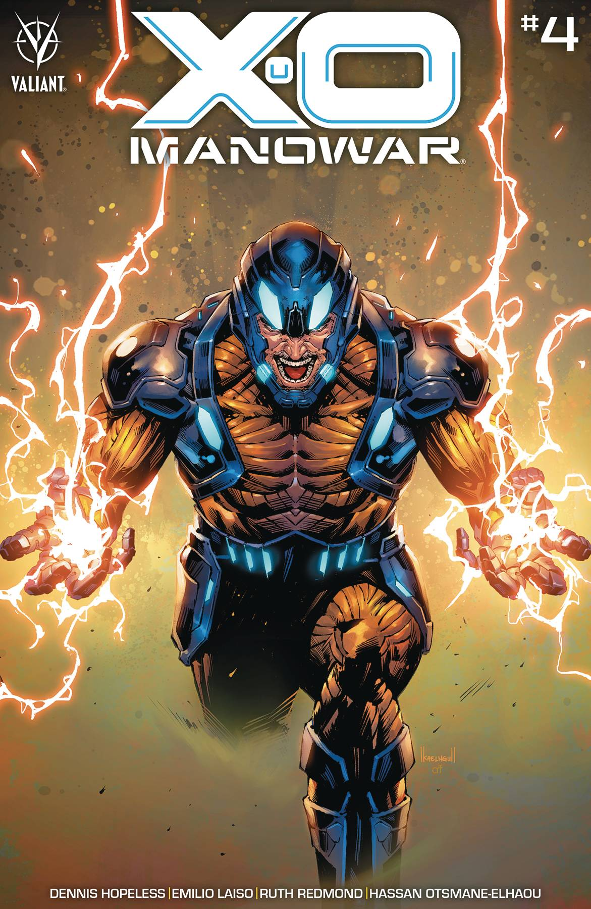 X-O Manowar #4 Cover A